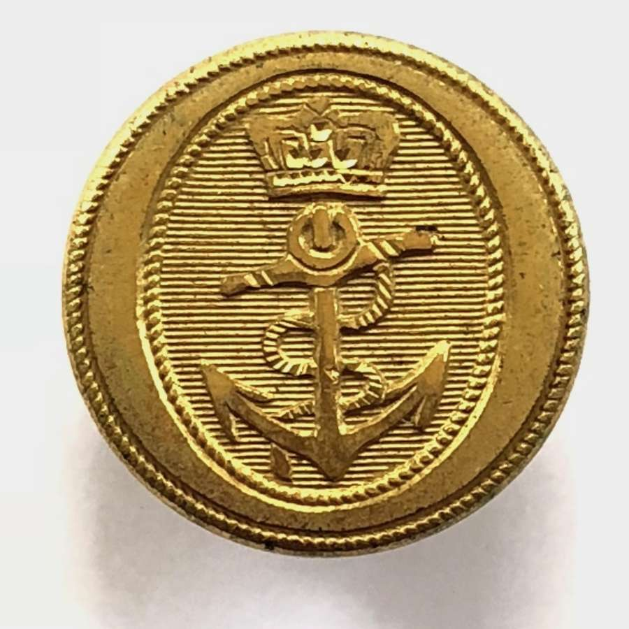 Royal Navy Captain's or Commander's fine gilt button C1795-1812.