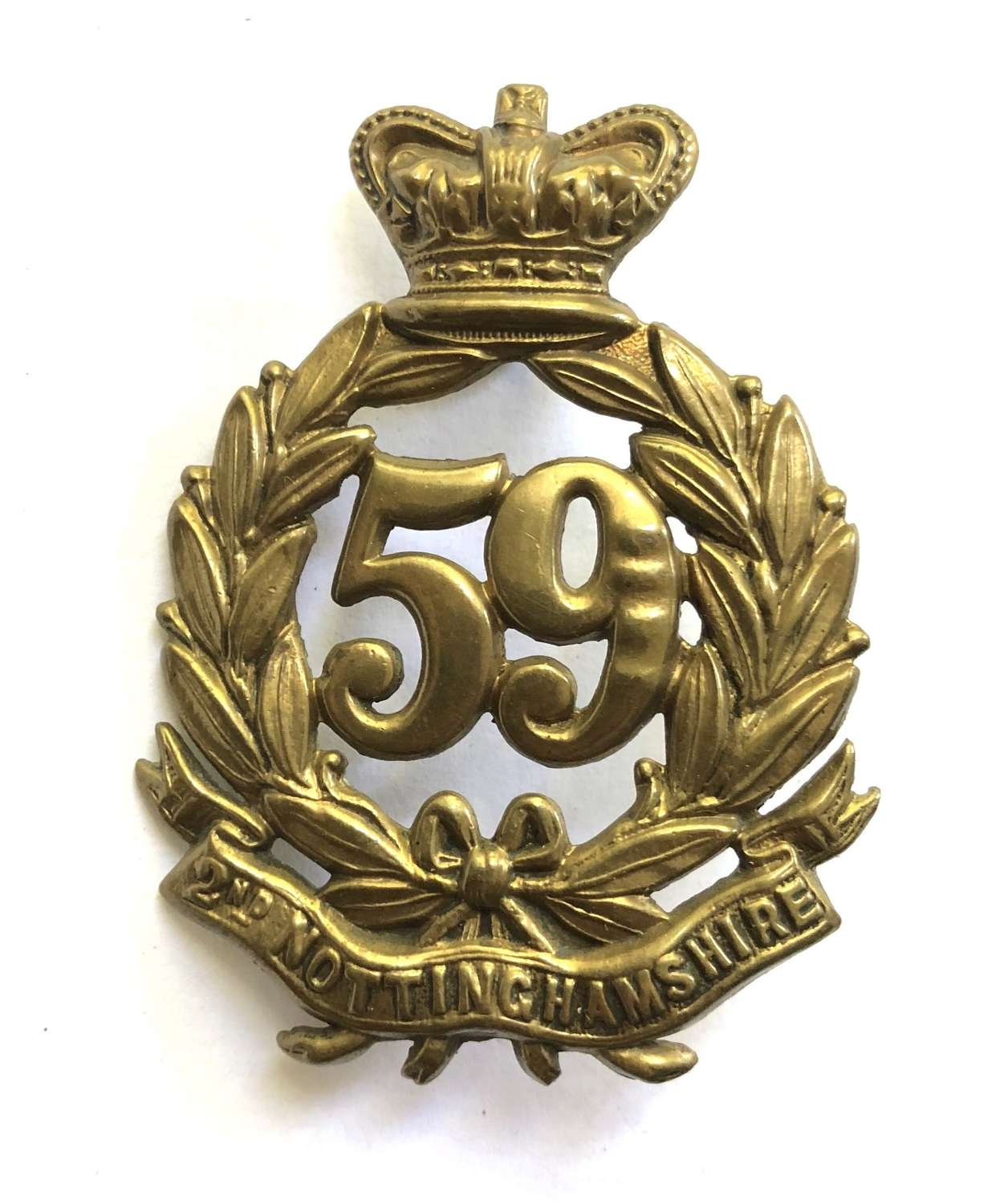 59th (2nd Nottinghamshire) Regiment of Foot Victorian OR's glengarry