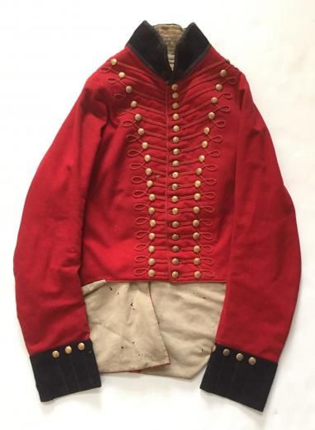 Manchester Local Militia George III Officer's coatee circa 1808-16