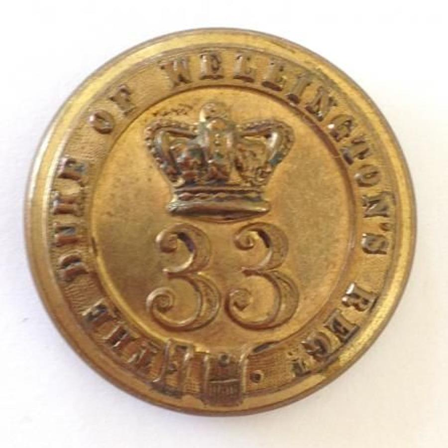 33rd (1st Yorkshire, West Riding) Regiment of Foot Victorian Officer