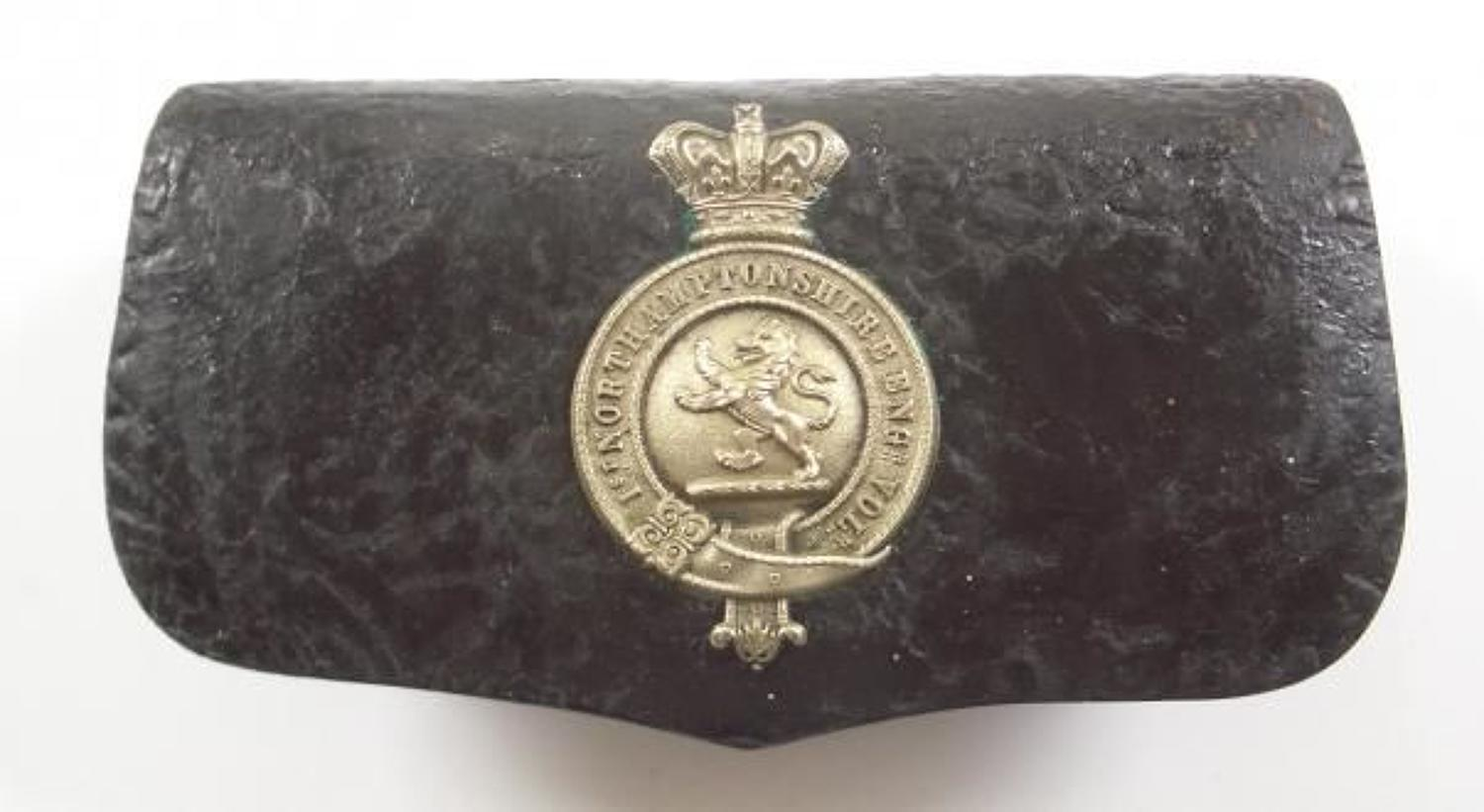 1st Northamptonshire Engineer Volunteers Victorian Officer's pouch