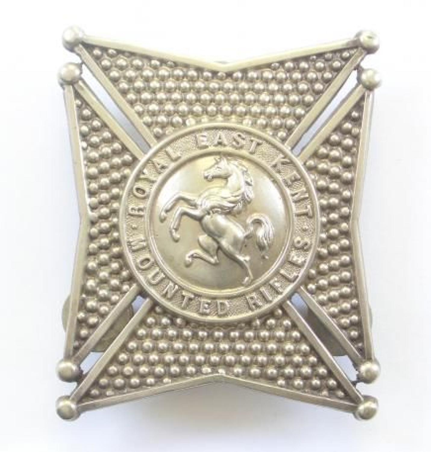 Royal East Kent Mounted Rifles post 1863 Victorian Officer's pouch bel