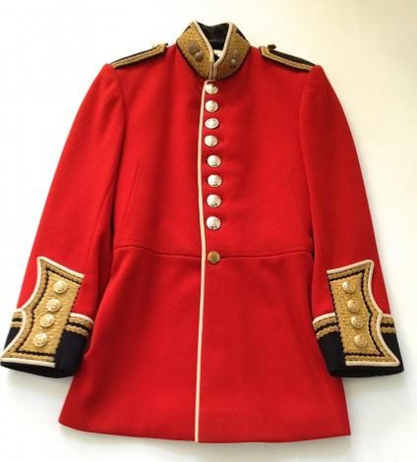 Grenadier Guards EIIR Officer's scarlet tunic.