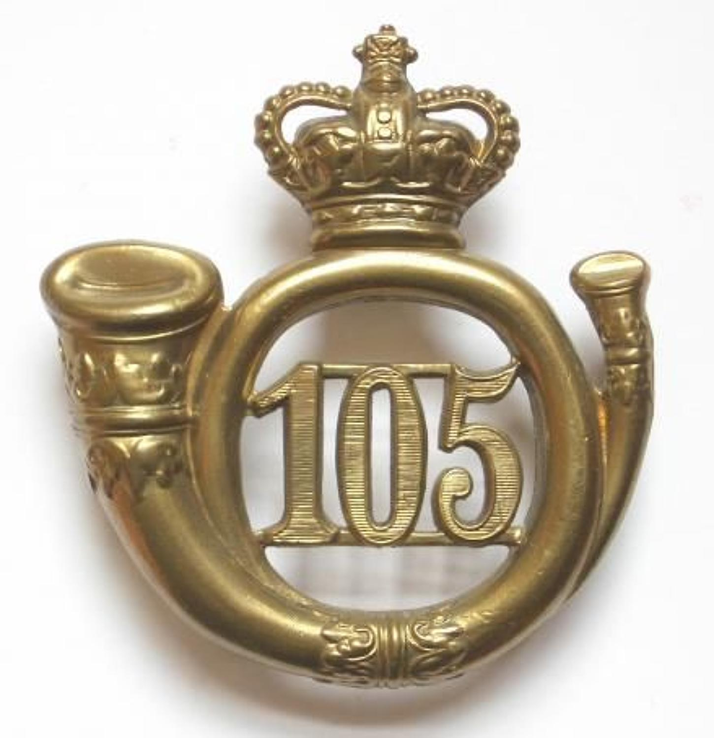 105th (Madras Light Infantry) Regiment, Victorian OR's glangarry badge