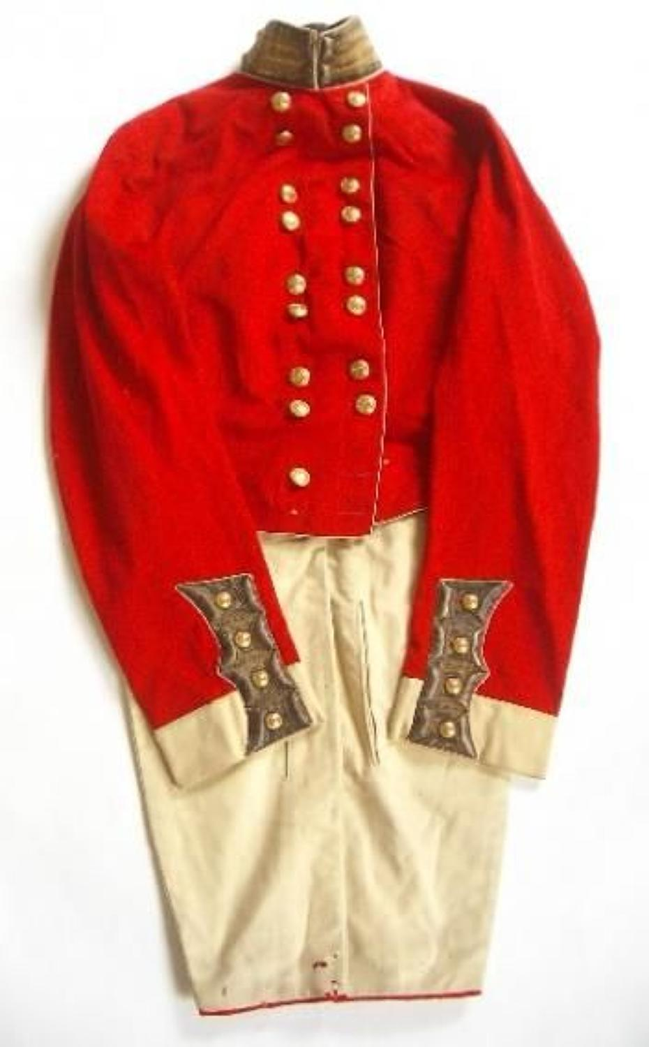 Bengal Native Infantry, East India Company Georgian Officer's Coatee