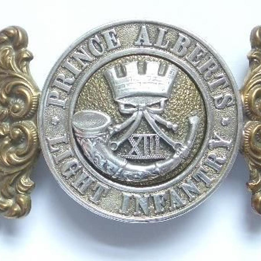 13th Foot (1st Somersetshire) Light Infantry Officer's Waist Clasp