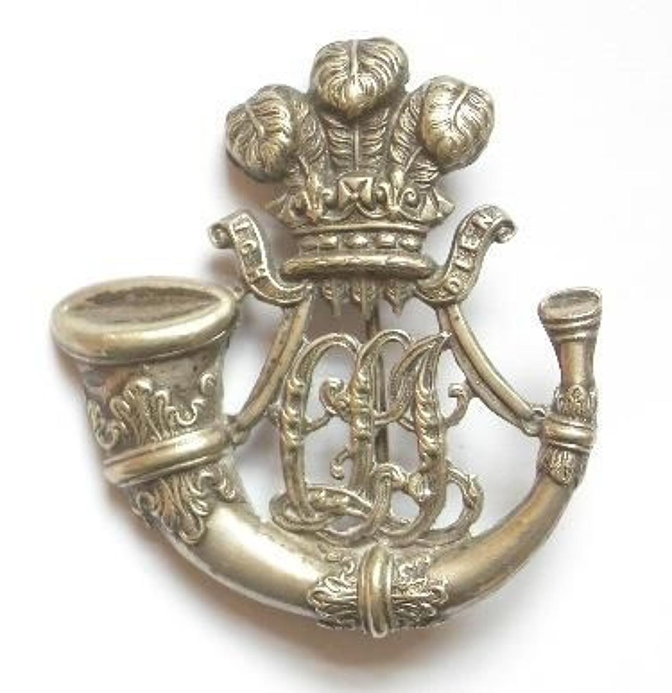 Ceylon Light Infantry post 1881 Officer's pagri badge.