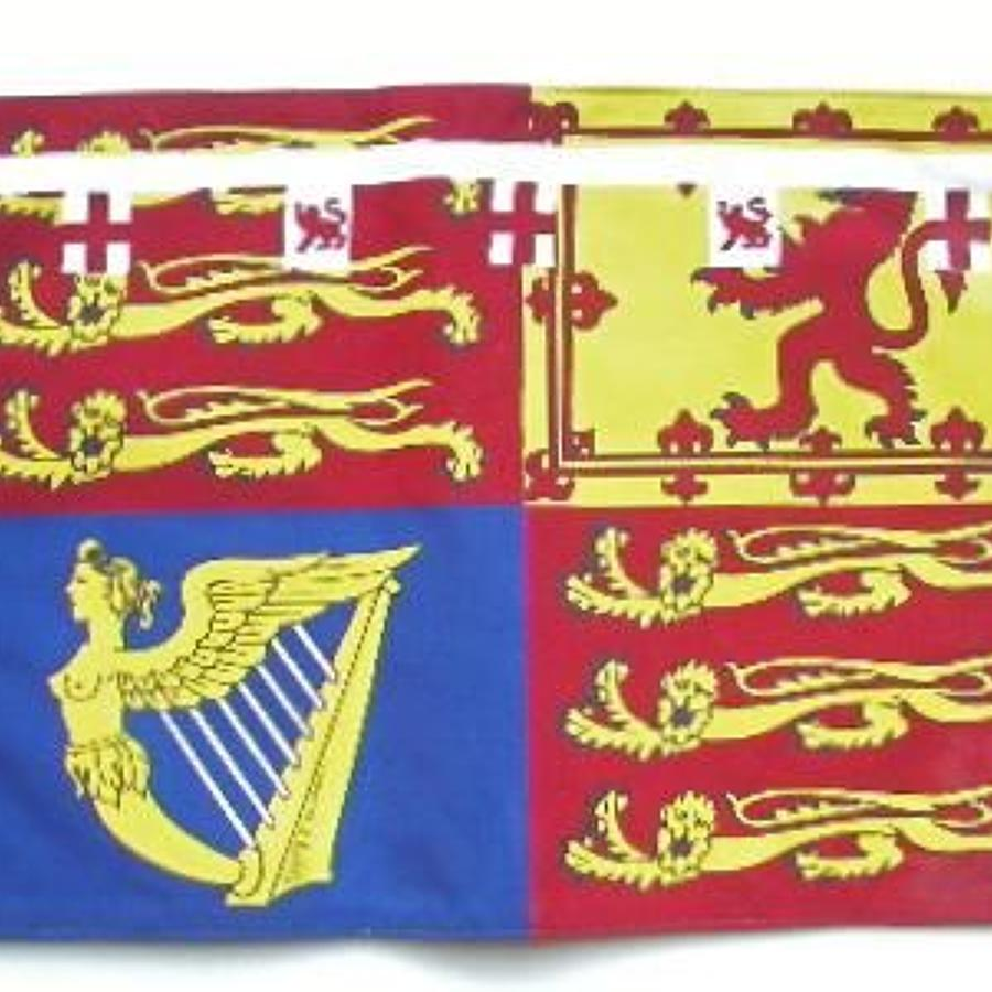 Royalty. Royal Standard of HRH The Duke of Gloucester.