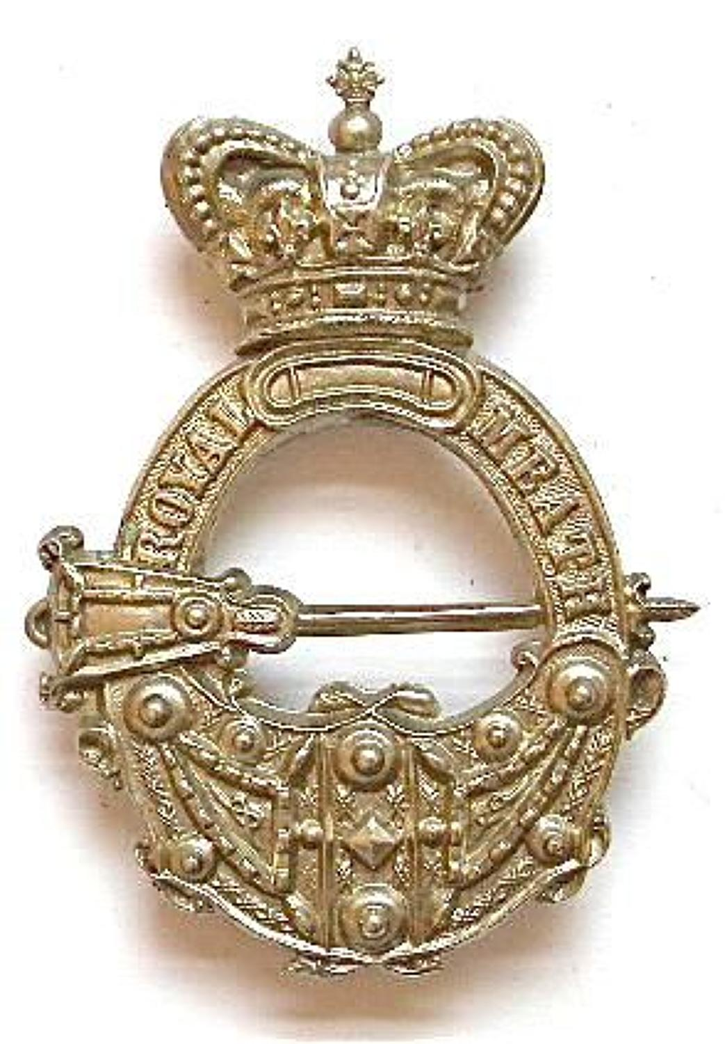 Irish. Royal Meath Militia Victorian OR's glengarry badge circa 1874