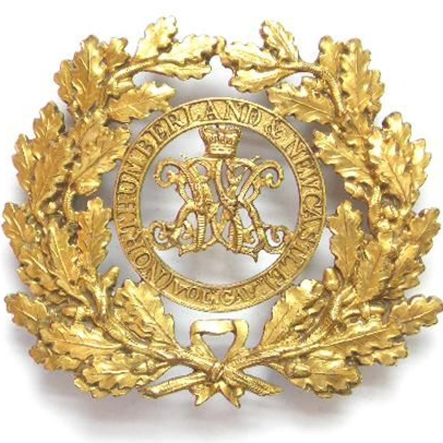 Northumberland and Newcastle Volunteer Cavalry sabretache ornament