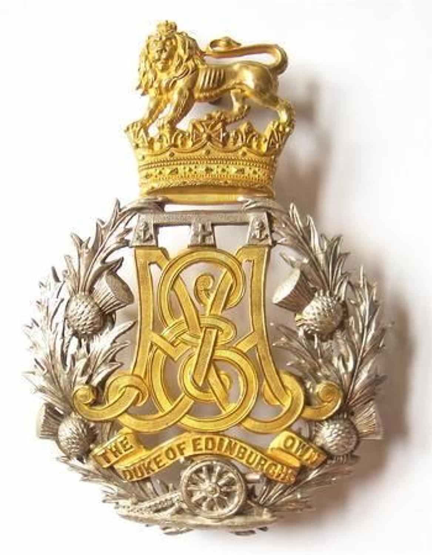 Scottish Duke of Edinburgh's Own Edinburgh Militia Artillery Victori