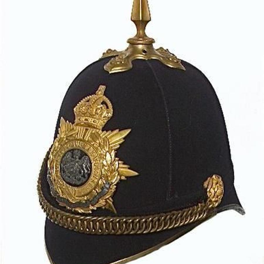 1st Bn Herefordshire Regiment post 1902 Officer's Helmet