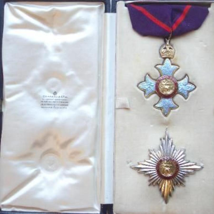 Knight Commander of the Most Excellent Order of the British Empire