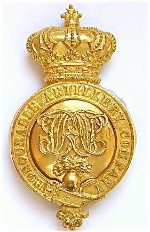 Honourable Artillery Company Victorian Officer's sabretache platetac
