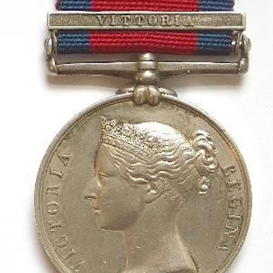 2nd Life Guards, Military General Service Medal (1793-1814).