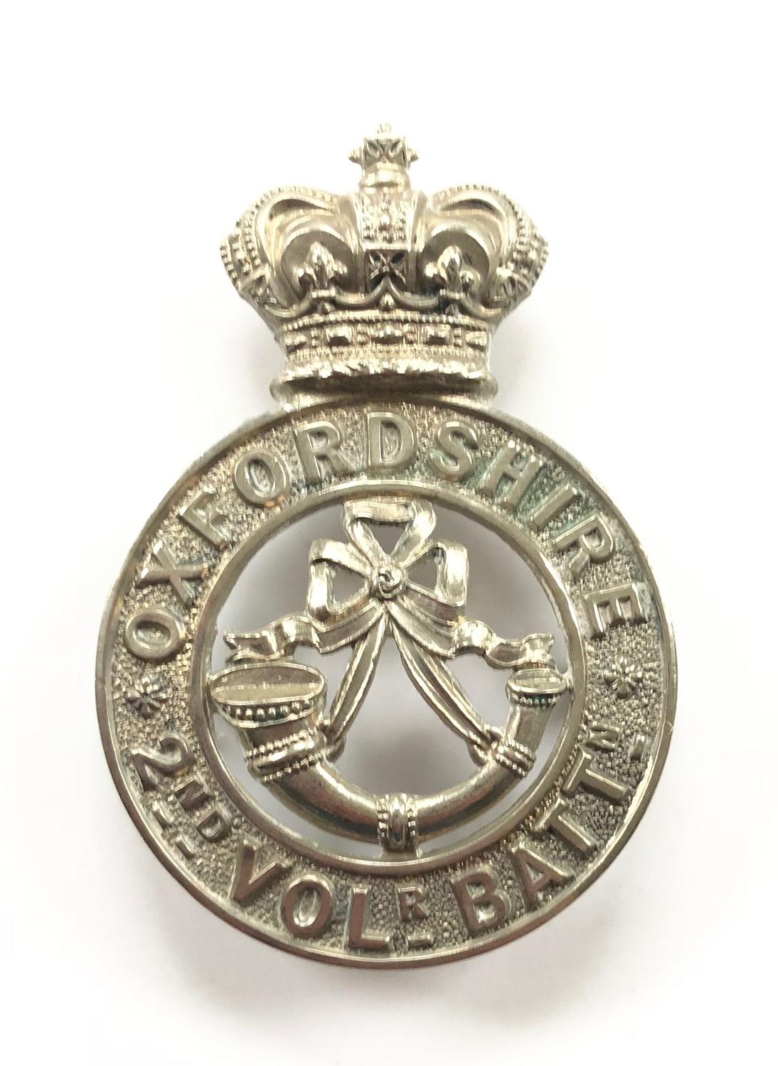 2nd VB Oxfordshire Light Infantry Victorian OR's glengarry badge
