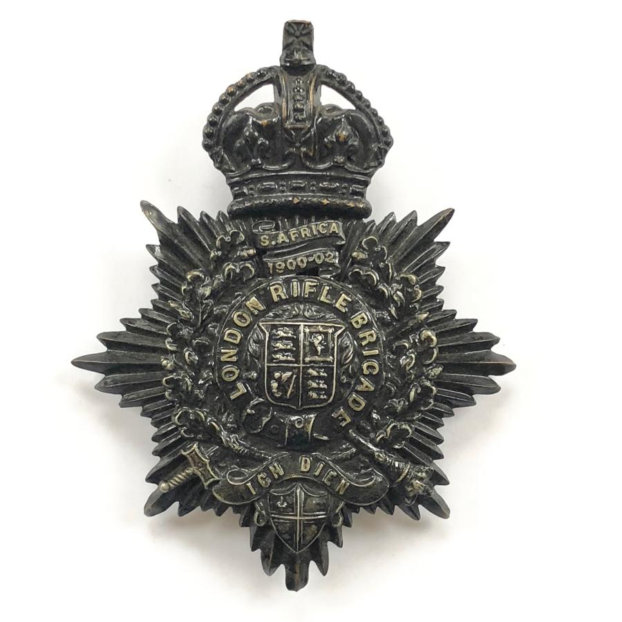 1st (City of London Volunteer Rifle Brigade), post 1905 shako plate