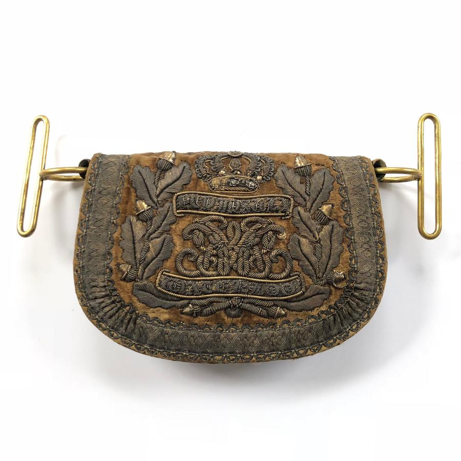 1st The Royal Dragoons William IV Officer's Pouch 1830-37
