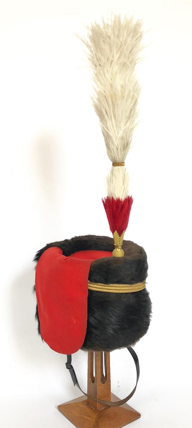 Honourable Artillery Company Victorian Officer's busby.