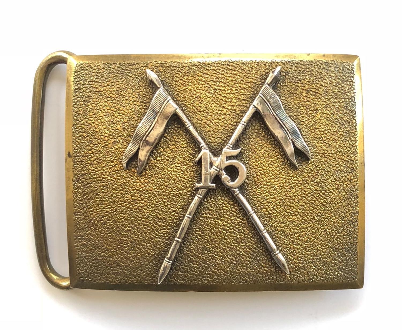 15th Bengal Lancers (Curetons Multanis) Officer's waist belt plate