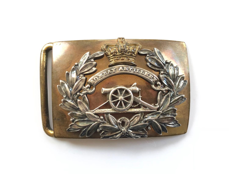 Bombay Artillery pre 1858 Victorian Officer's waist belt plate