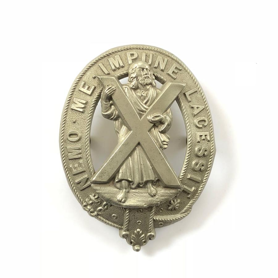 2nd Midlothian & Peebles Rifle Volunteers Victorian glengarry badge