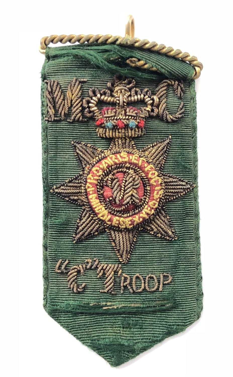 Middlesex Yeomanry C Troop Master of Ceromonies Badge