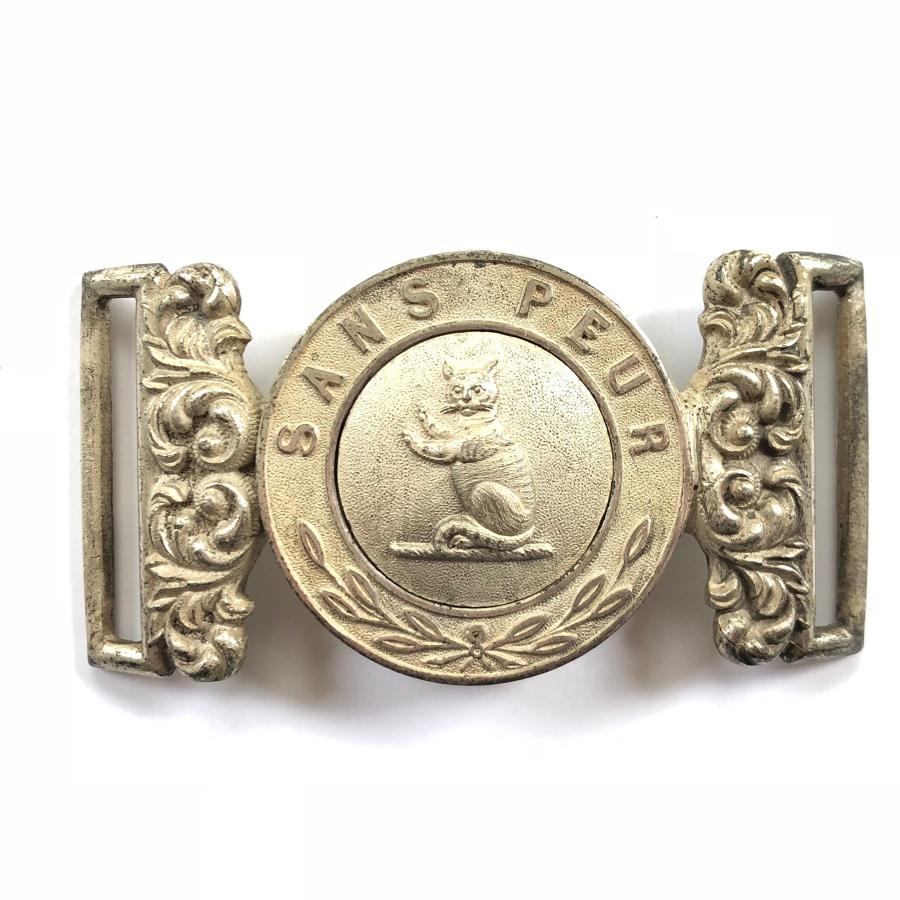 Sutherland Rifle Volunteers Victorian Officer's waist belt clasp