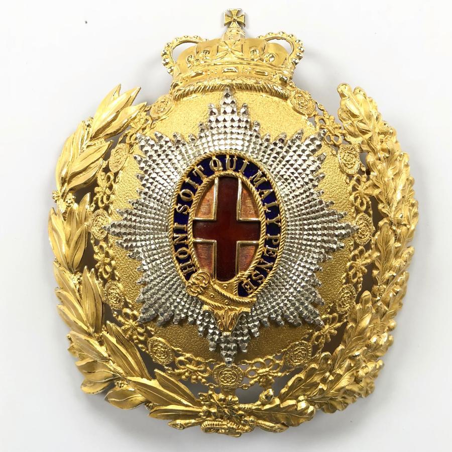 Household Cavalry post 1953 Officer's helmet plate