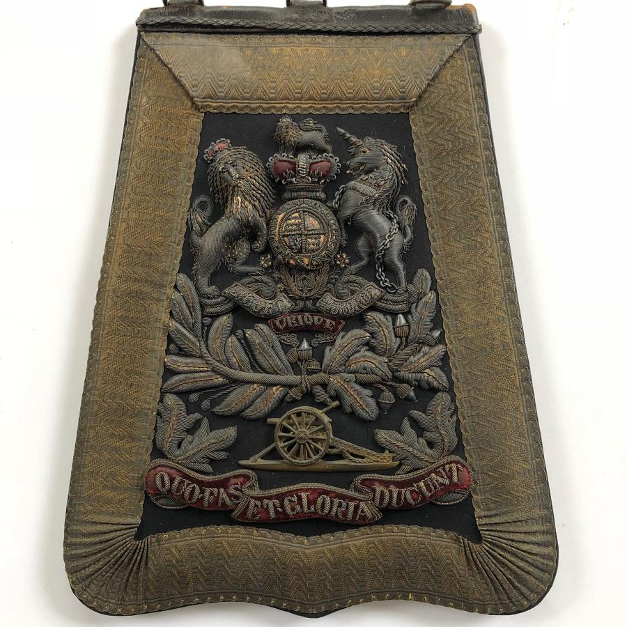 Royal Artillery Victorian Officer's Full Dress Sabretache