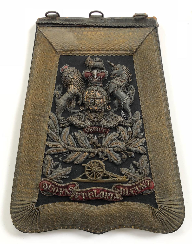 Royal Artillery Victorian Officer's Full Dress Sabretache