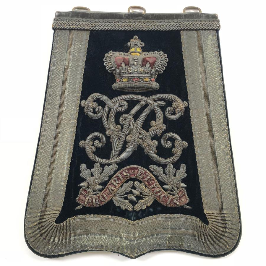 Middlesex Yeomanry Victorian Officer's Sabretache