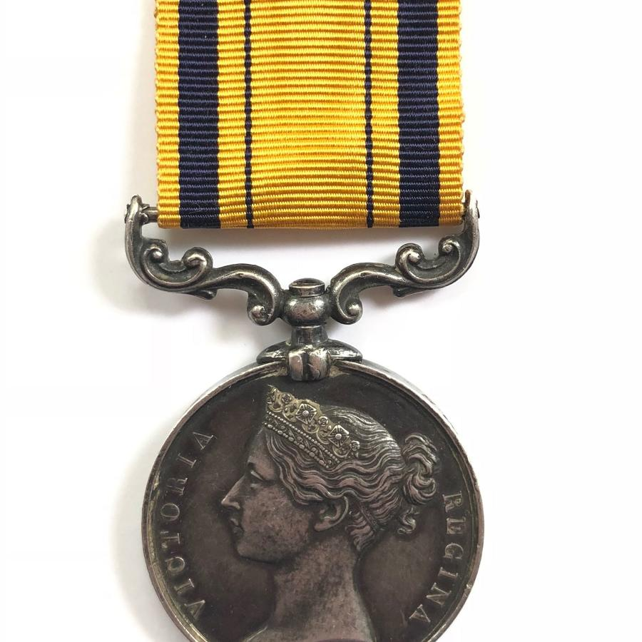 Royal Navy HMS Shah South Africa Zulu War Medal