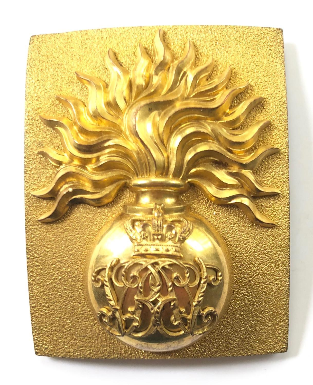 Grenadier Guards Victorian Officer's Crimean War shoulder belt plate