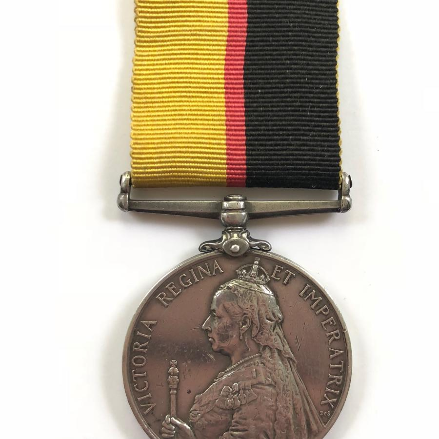 1st Bn Lincolnshire Regiment Queen's Sudan Medal
