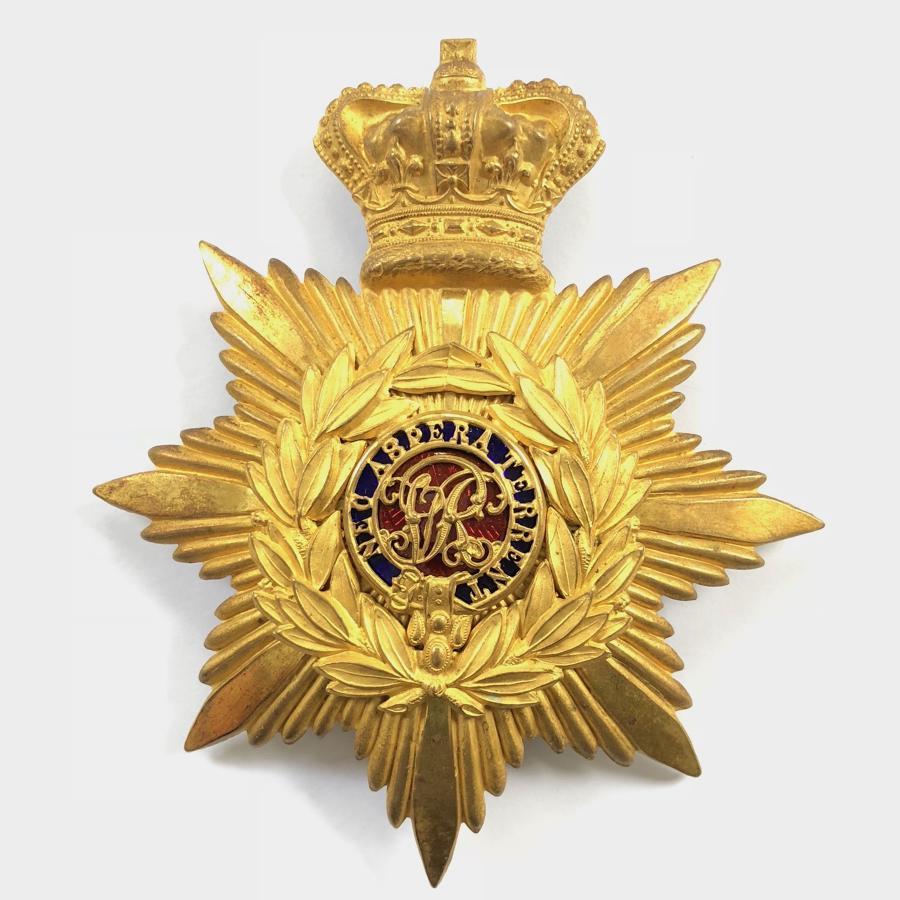 RMC Sandhurst, Victorian Gentleman Cadet's helmet plate