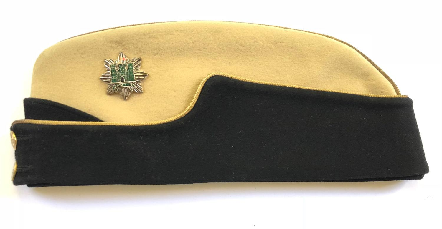 22nd Dragoons WW2 Officer's coloured field service cap