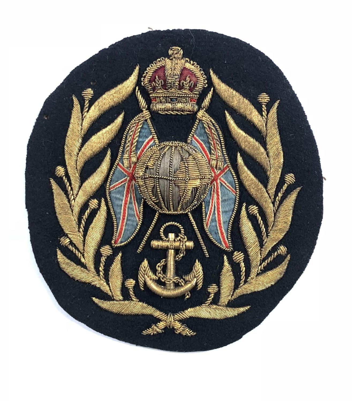 Royal Marine Light Infantry Colour Sergeant's rank badge circa 1923