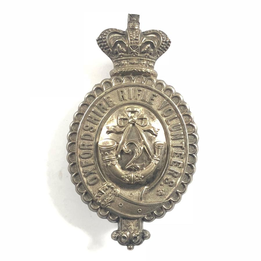 2nd VB Oxfordshire Rifle Volunteers Officer's pouch belt plate