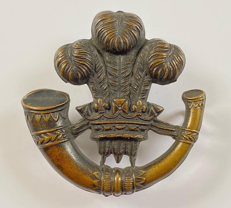 Irish Longford Light Infantry Militia Victorian glengarry badge
