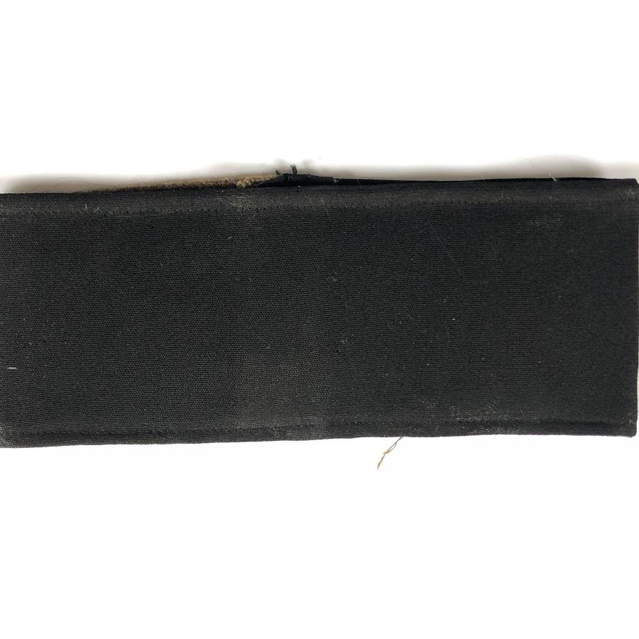 Military Officer's black mourning armband
