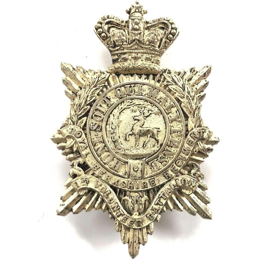 1st VB Royal Berkshire Regiment Victorian Officer's pouch belt plate