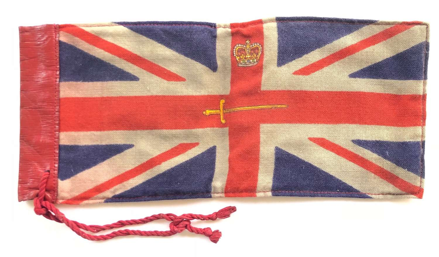 Car pennant for a Lord Lieutenant of an English County