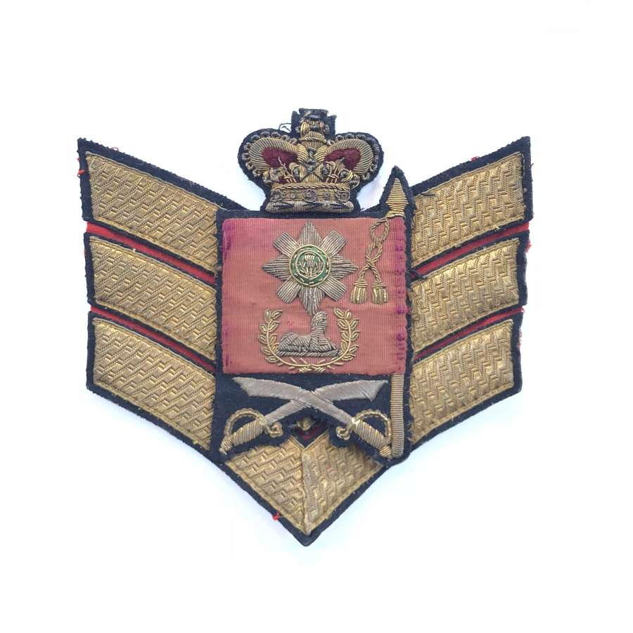 Scots Guards Victorian Colour Sergeant's Rank badge