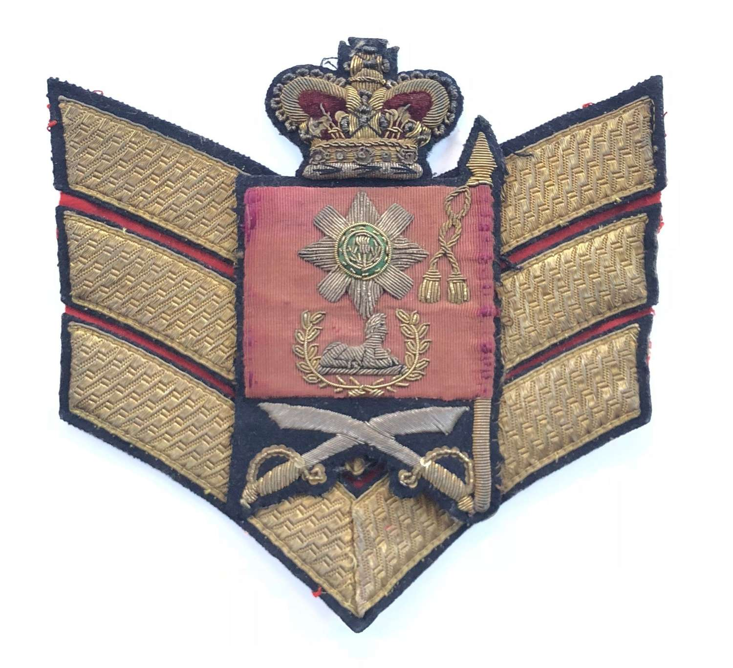 Scots Guards Victorian Colour Sergeant's Rank badge