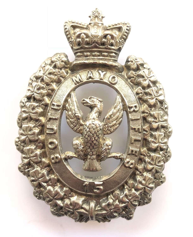Irish. South Mayo Rifles Militia Victorian OR's glengarry badge