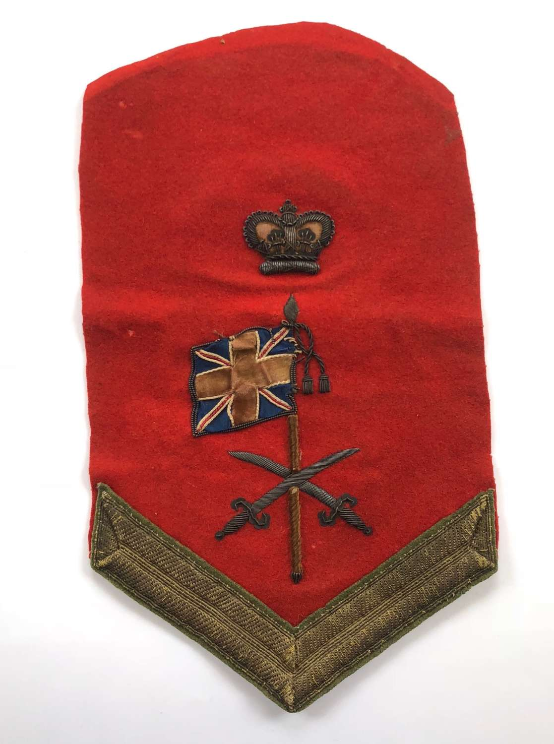 Infantry of the Line Colour Sergeant's 'Waterloo' pattern rank badge
