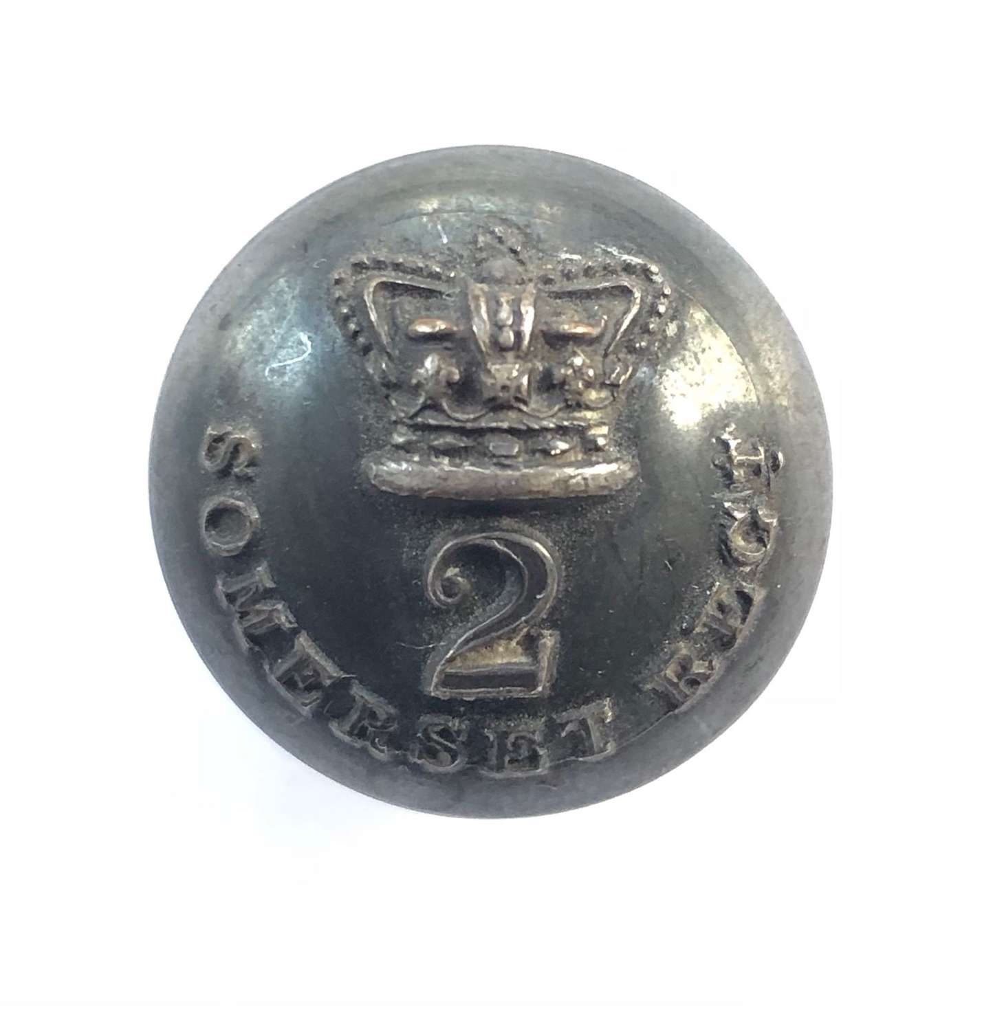 2nd Somerset Militia Victorian Officer's coatee button