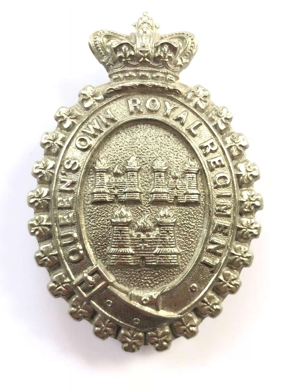 Queen's Own Royal Dublin City Militia Victorian glengarry badge