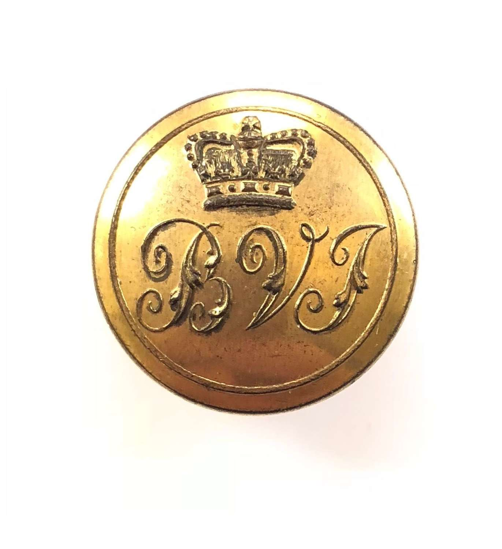 Burnham Volunteer Infantry Georgian Officer's coatee button